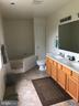 Bath (Master) with Double Sinks - 129 OAK HEIGHTS RD, FRONT ROYAL