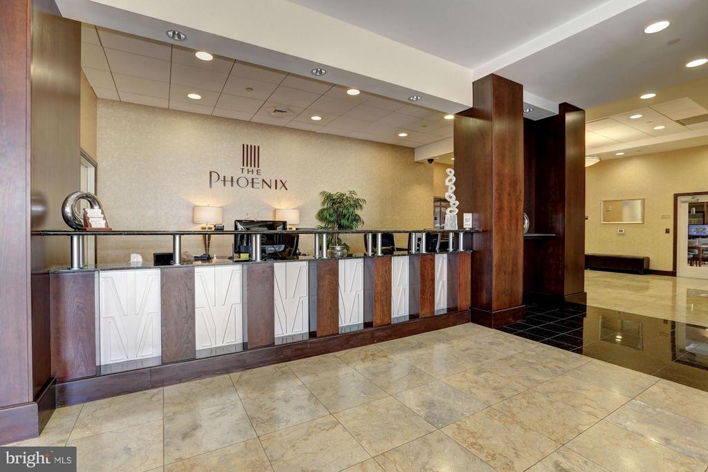 Concierge desk - 1020 HIGHLAND ST #1017, ARLINGTON