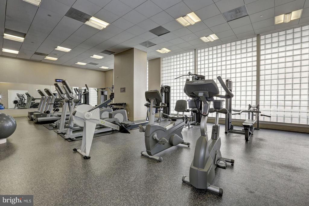 Huge gym!!!!! - 1020 HIGHLAND ST #1017, ARLINGTON