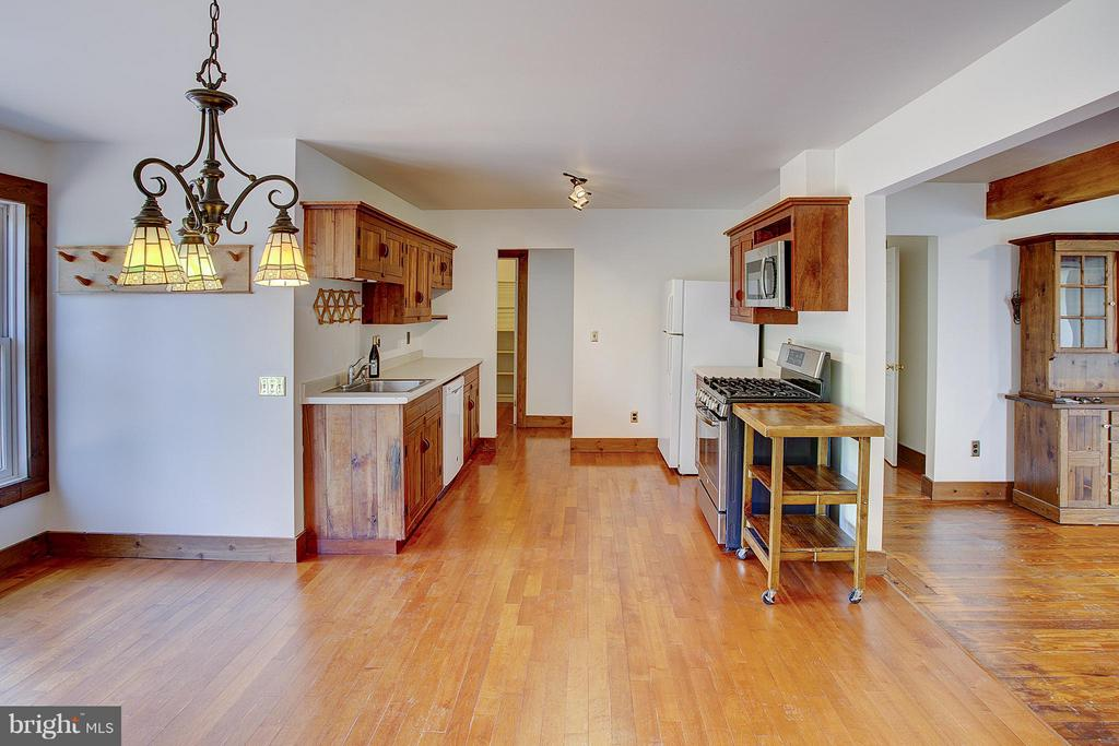 Guest house kitchen - 15286 LOYALTY RD, WATERFORD