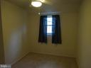 3rd bedroom with huge closet, new carpet - 12705 GOULD RD, SILVER SPRING