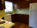 Kitchen with loads of cabinets - 12705 GOULD RD, SILVER SPRING
