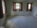 Lots of light in living room - 12705 GOULD RD, SILVER SPRING