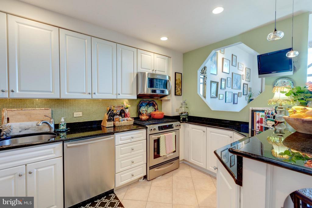Remodeled kitchen - 1200 NASH ST N #551, ARLINGTON