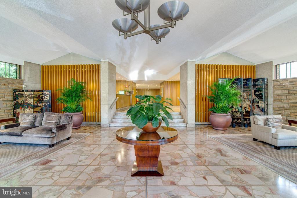 Beautiful lobby of Prospect House - 1200 NASH ST N #551, ARLINGTON