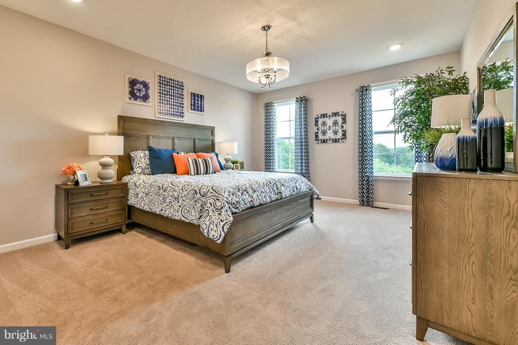 Bedroom (Master) - HOMESITE 107 ABINO HILLS WAY W, MARTINSBURG