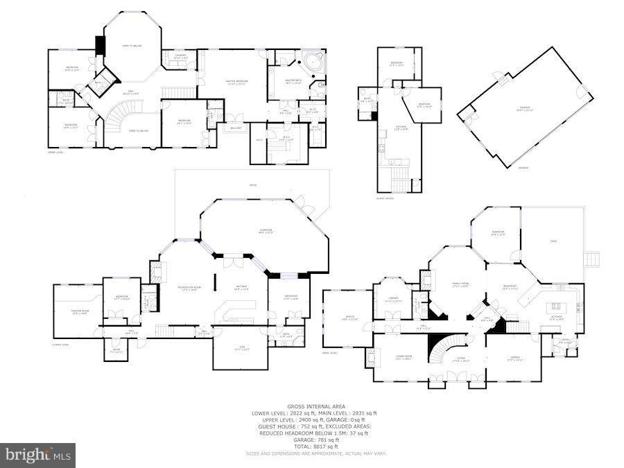 Floor Plan - 11308 HEARTH CT, GREAT FALLS