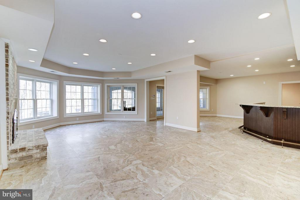 Expansive Lower Level - 11308 HEARTH CT, GREAT FALLS