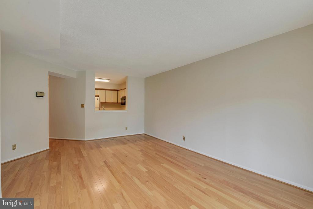 Enough room for a dining table or desk - 2100 LEE HWY #220, ARLINGTON