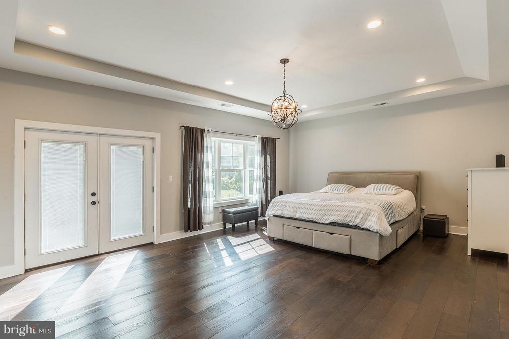 Enjoy this large trey ceiling and private balcony - 7337 PAXTON RD, FALLS CHURCH