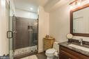 Beautiful walk in shower and full bathroom - 7337 PAXTON RD, FALLS CHURCH