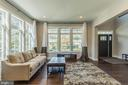 Relax in this bright, open living room! - 7337 PAXTON RD, FALLS CHURCH