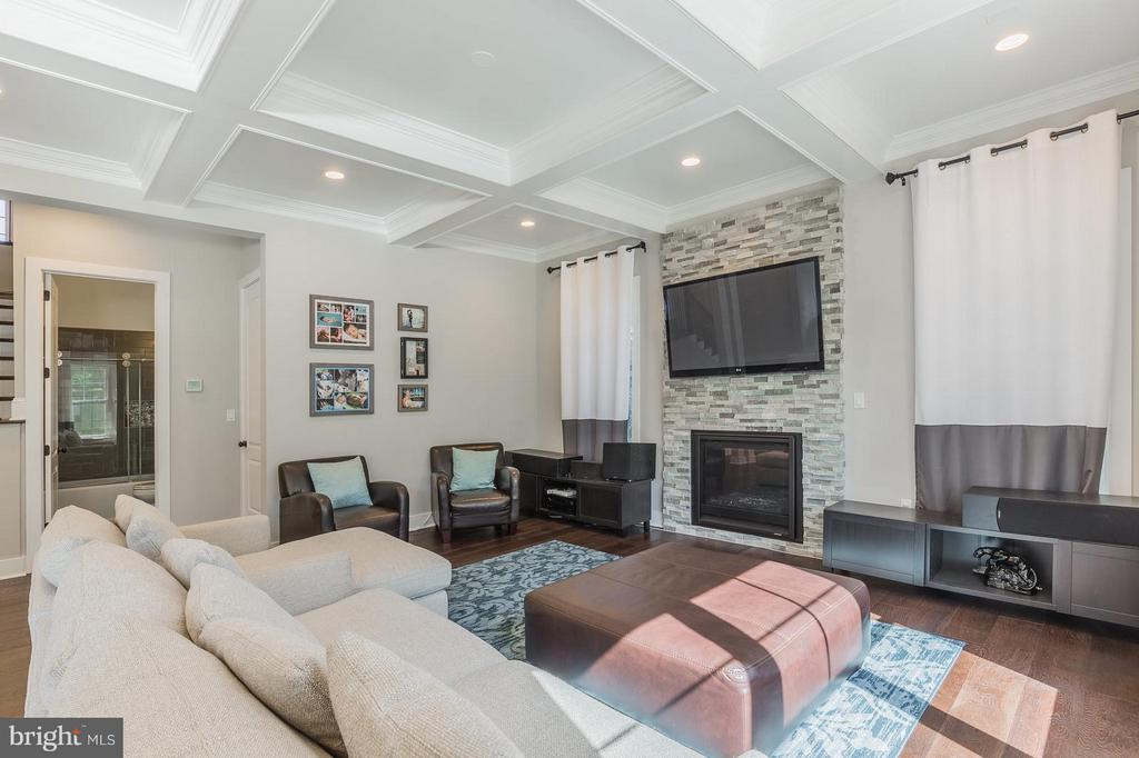 Enjoy plenty of light and space with 12ft ceilings - 7337 PAXTON RD, FALLS CHURCH