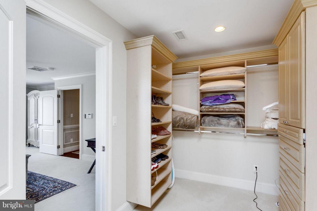 Sky-lit walk-in closet in 2nd Master Bedroom - 2138 PATRICK HENRY DR, ARLINGTON