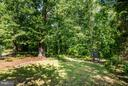 HUGE rear yard in summer time - 609 LANCASTER ST, FREDERICKSBURG