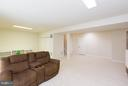 Rec Room next to large storage room - 43573 DUNHILL CUP SQ, ASHBURN