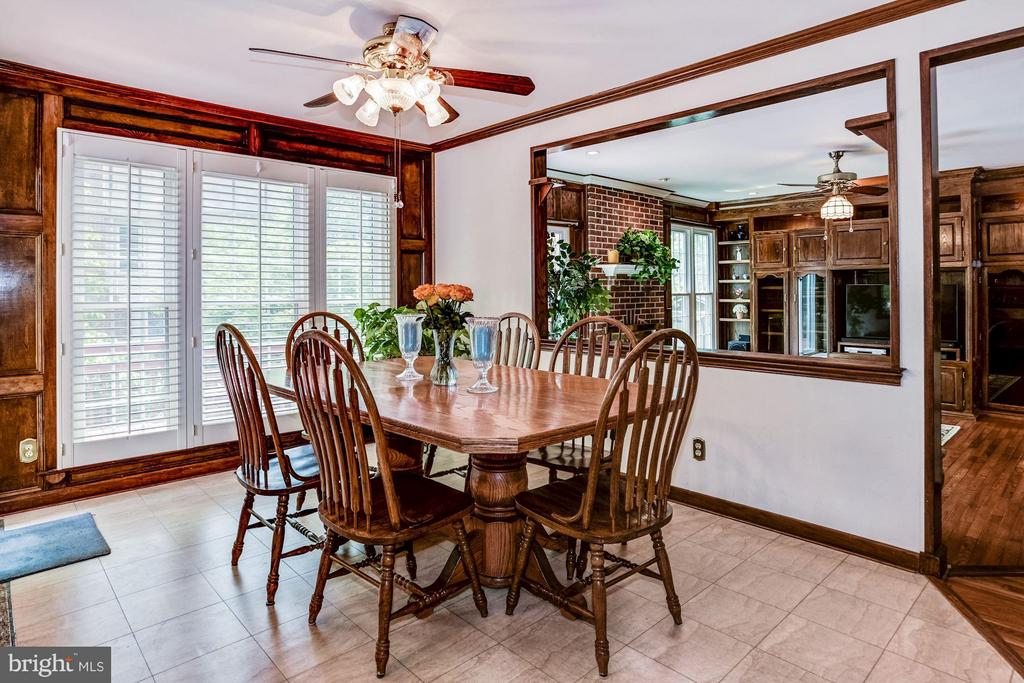Eat in kitchen - 6607 ENGLISH SADDLE CT, CENTREVILLE
