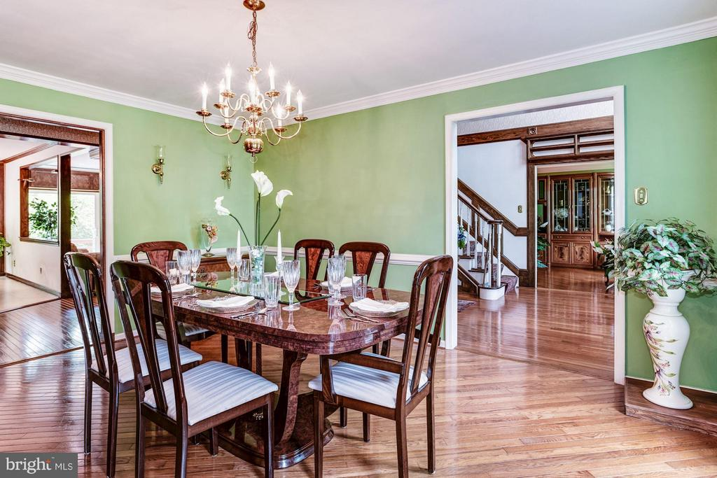 Dining Room - 6607 ENGLISH SADDLE CT, CENTREVILLE