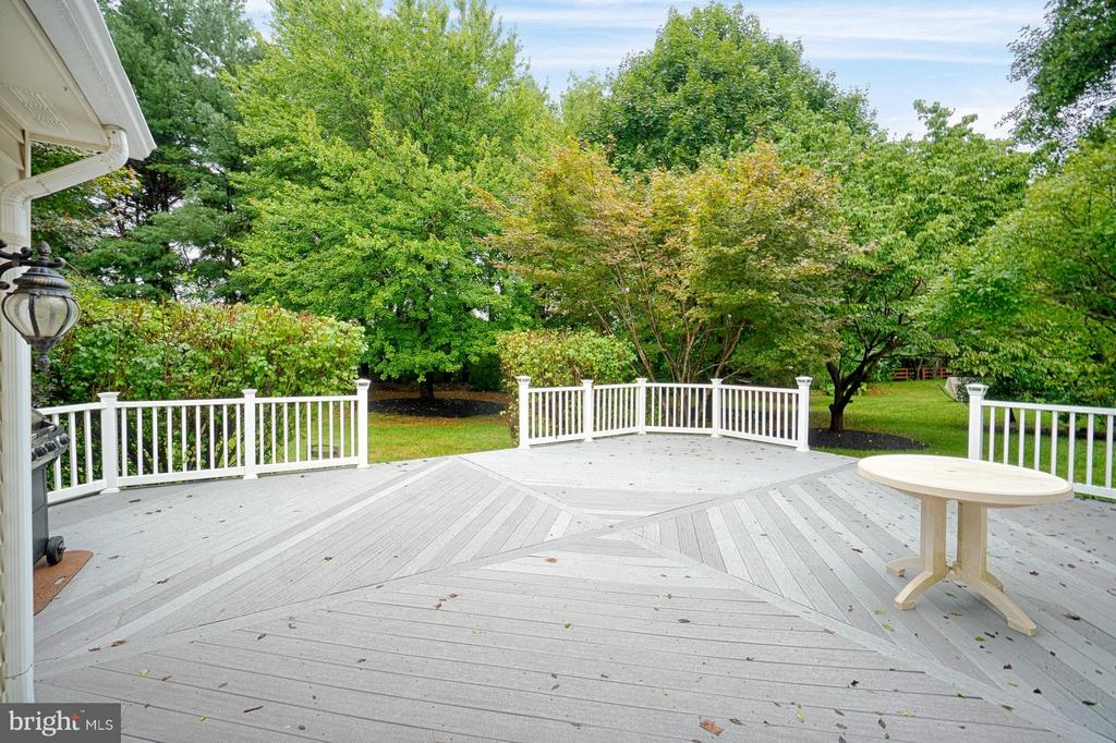 No Maintenance Deck - 1388 PARK LAKE DR, RESTON