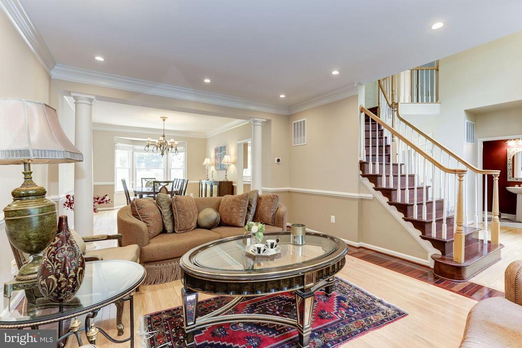 Living Room - 1312 DASHER LN, RESTON