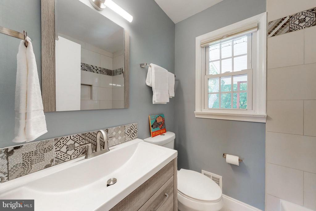 Baths - all gutted and built out with new products - 5713 PALIN PL, ALEXANDRIA