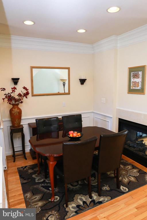 Dining Room - 11417 LOG RIDGE DR, FAIRFAX