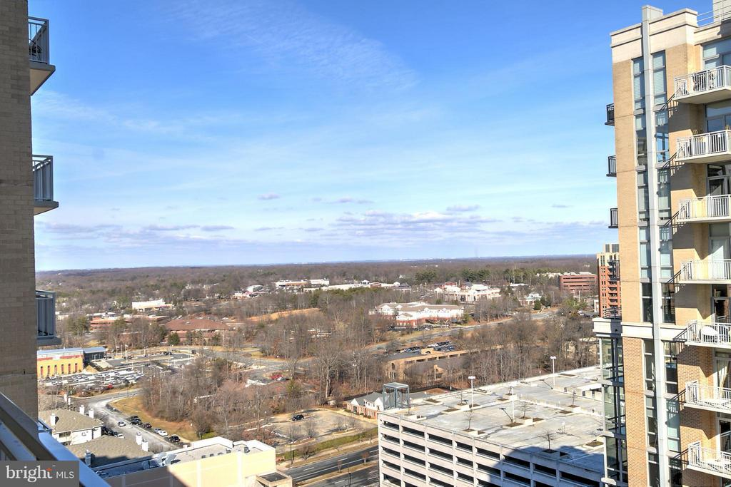 View From Balcony - 11990 MARKET ST #1811, RESTON