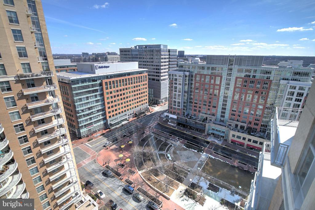 View from Living Room - 11990 MARKET ST #1811, RESTON