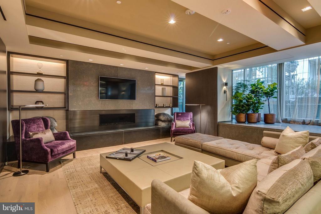 Residents Lounge - Living Area - 2501 M ST NW #411, WASHINGTON