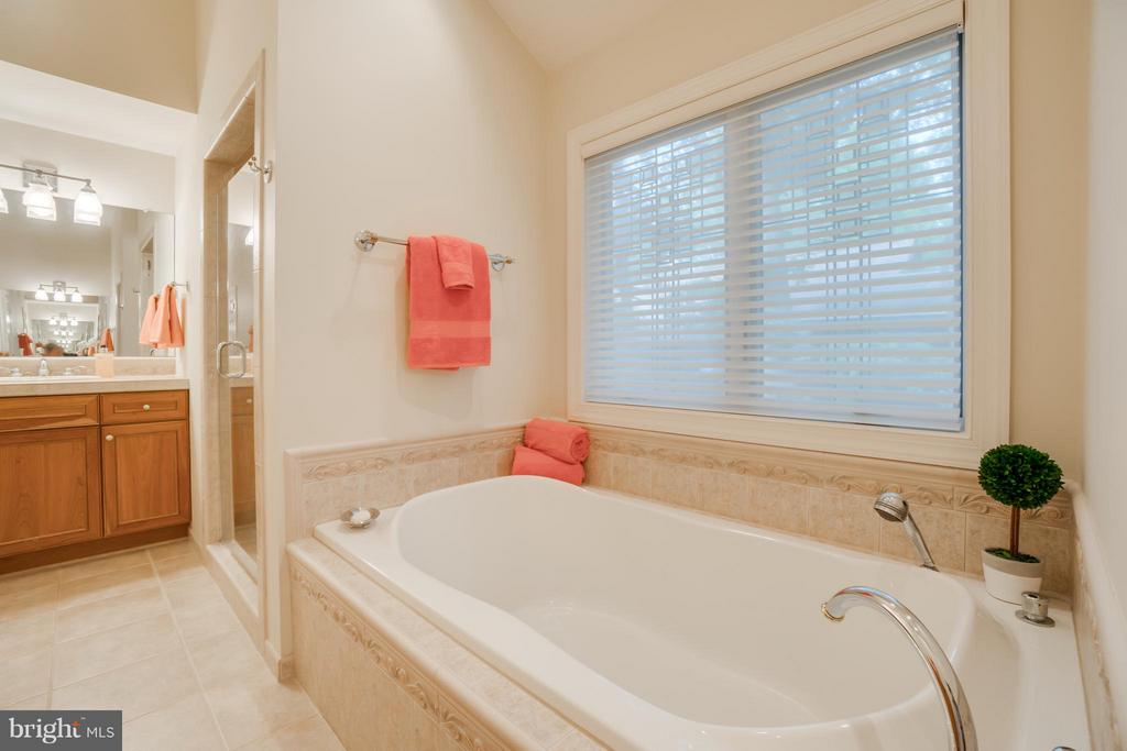 Spacious Master Bath with Soaking Tub and Shower!! - 232 BEACHSIDE CV, LOCUST GROVE