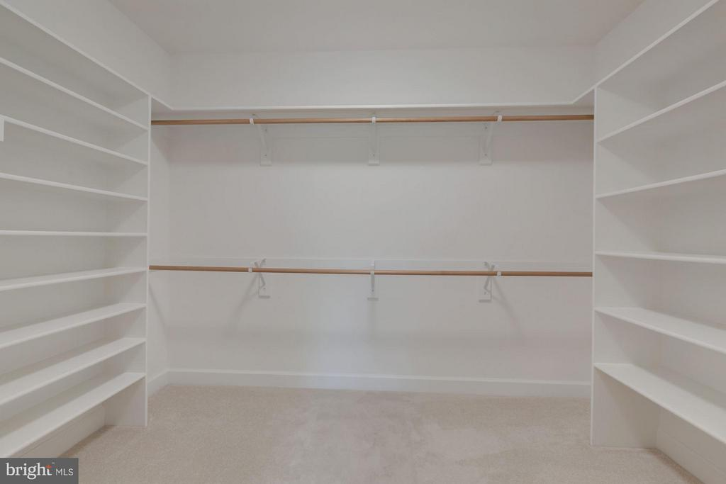 One of the Two Walk-In Closets In Master Bedroom - 10510 COBBS GROVE LN, FAIRFAX