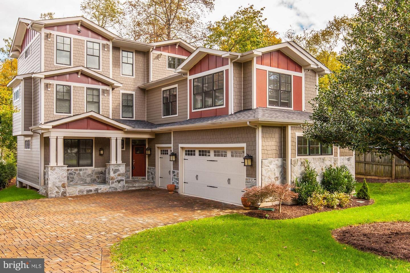 Single Family Home for Sale at 2509 Fowler Street 2509 Fowler Street Falls Church, Virginia 22046 United States