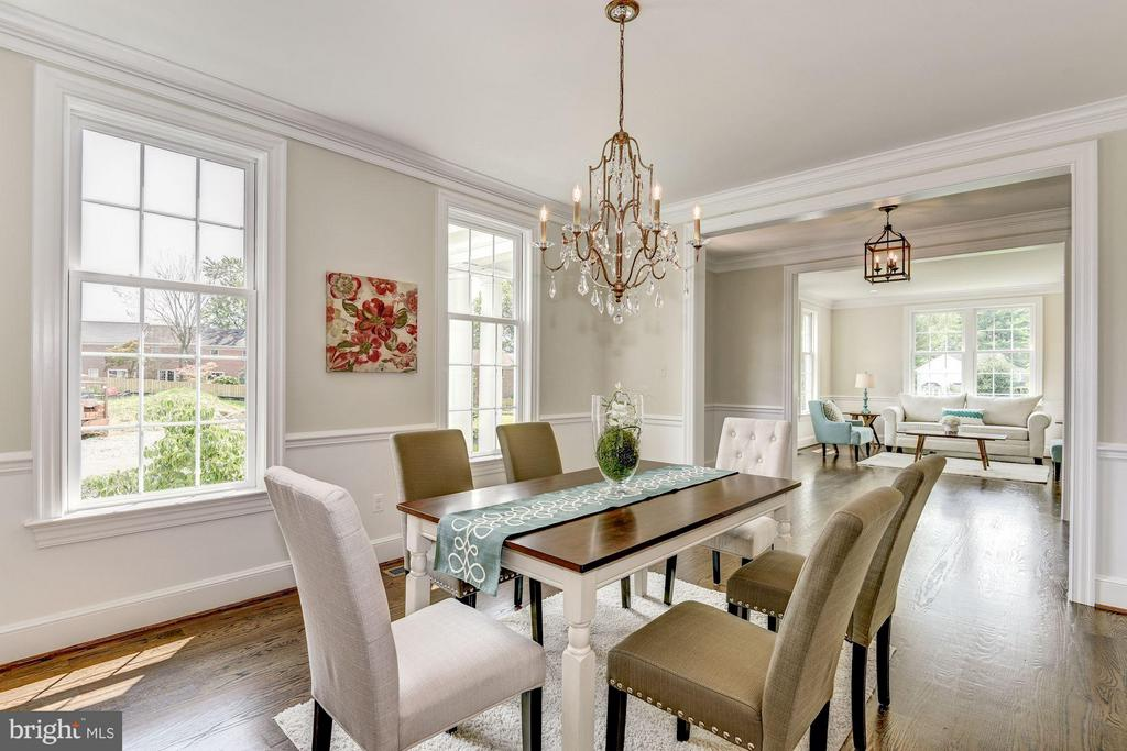 Large Dining Room Perfect for Entertaining - 10510 COBBS GROVE LN, FAIRFAX