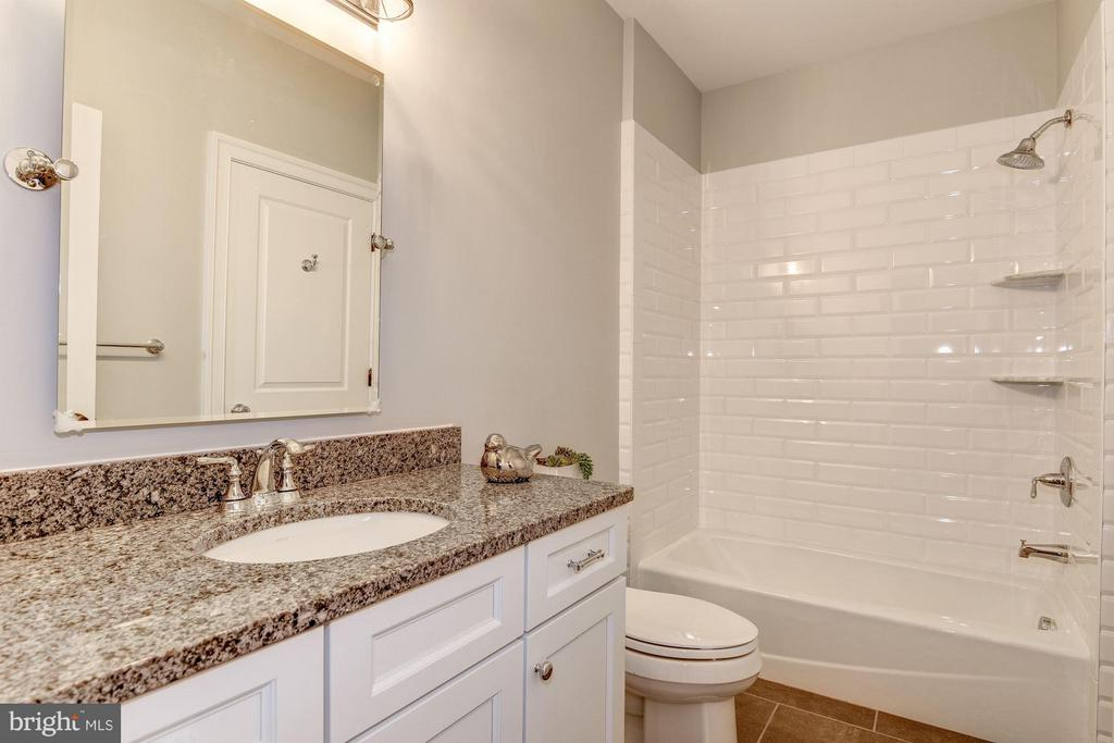 Lower Level Bathroom - 10510 COBBS GROVE LN, FAIRFAX