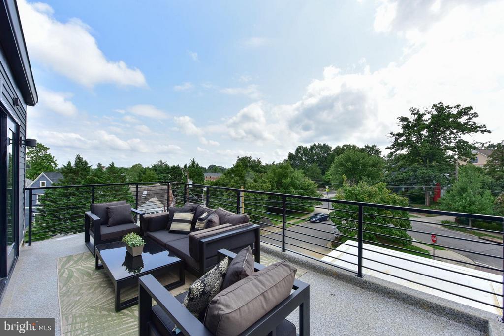 Incredible rooftop deck - 2829 1ST RD N, ARLINGTON