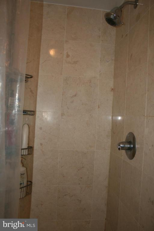 Fully updated, ceramic floor, vanity and shower - 5353 COLUMBIA PIKE #401, ARLINGTON