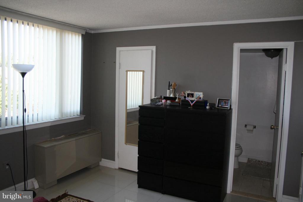 walk in closet on left, en-suite bathroom on right - 5353 COLUMBIA PIKE #401, ARLINGTON
