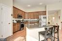 Kitchen - 12493 LUCAS DR, FAIRFAX