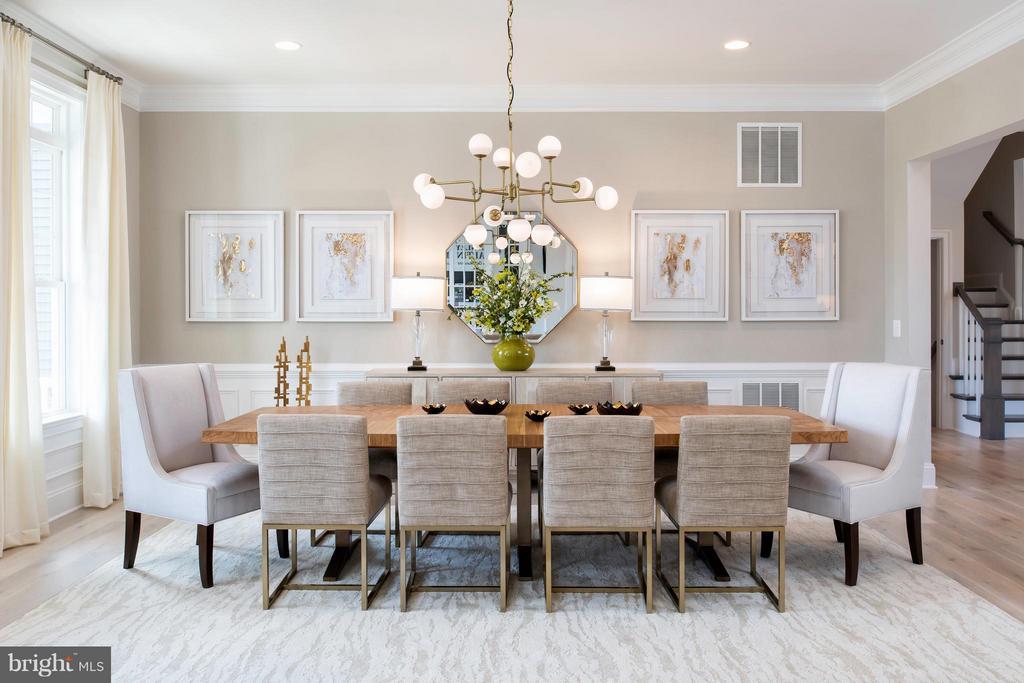 Dining Room - 11858 BOSCOBEL CT, HERNDON