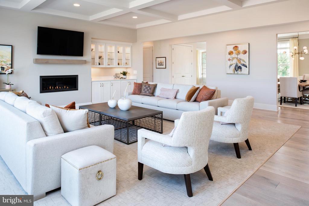 Living Room - 11858 BOSCOBEL CT, HERNDON