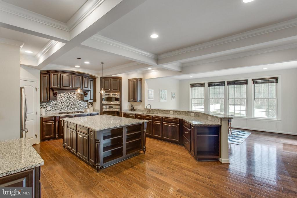 Chef's kitchen w pantry and bright breakfast room - 9427 FERRY LANDING CT, ALEXANDRIA