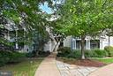 Walkway to unit is very convenient to parking - 1700 LAKE SHORE CREST DR #15, RESTON