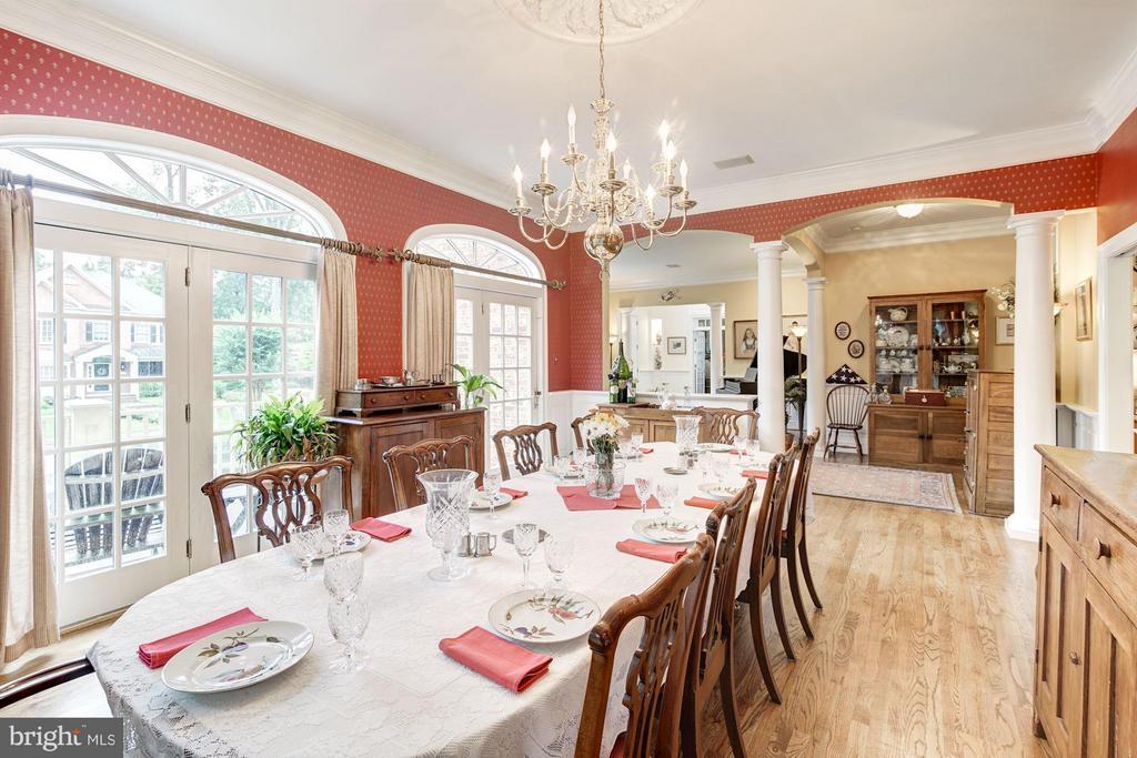 Dining Room - 3013 DICKERSON ST, ARLINGTON