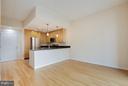 Living Room - 820 POLLARD ST #610, ARLINGTON