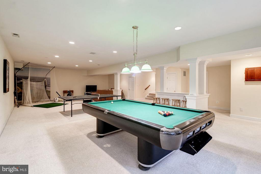 Massive open rec room for games and entertainment - 3013 DICKERSON ST, ARLINGTON