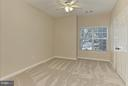 Bedroom with new carpet - 1700 LAKE SHORE CREST DR #15, RESTON