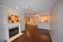 Enter to beautiful hardwood floors - 2330 14TH ST N #201, ARLINGTON