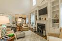 Custom Bookcases, Gas Fireplace, Blinds.... - 17041 SILVER ARROW DR, DUMFRIES