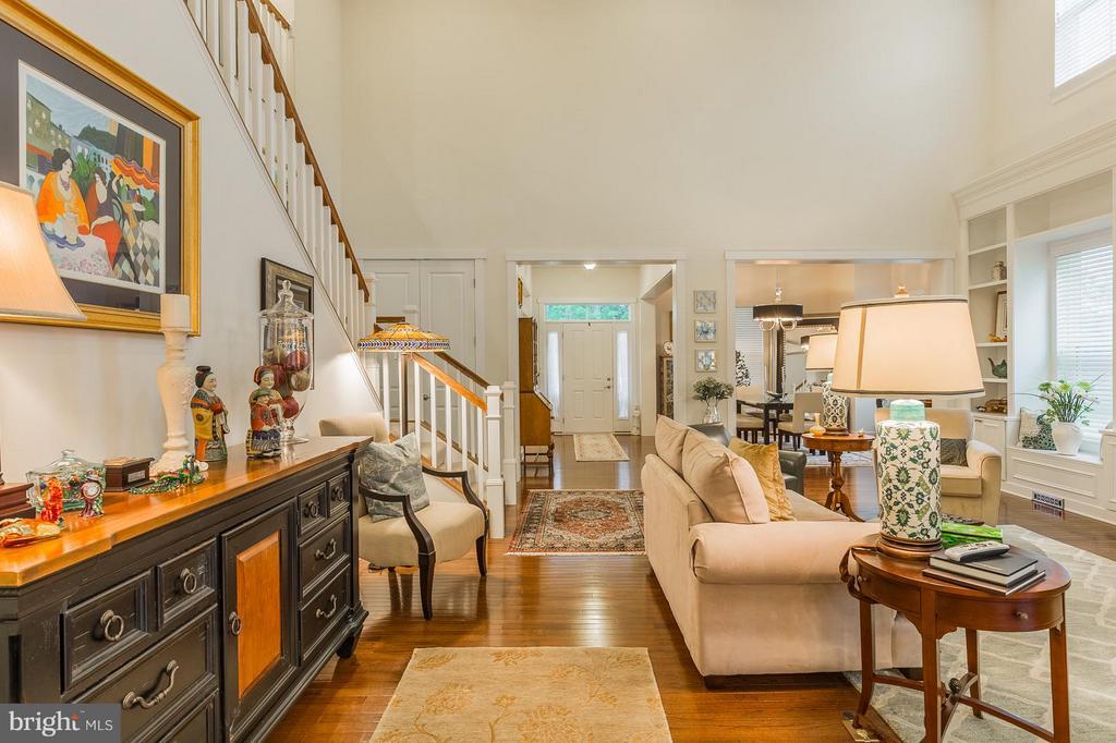 Look how open this floorplan is.. - 17041 SILVER ARROW DR, DUMFRIES