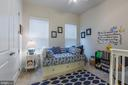 Bedroom #2 on main level w/full bath - 17041 SILVER ARROW DR, DUMFRIES